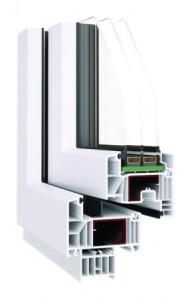 Okna energooszczędne - system Prime